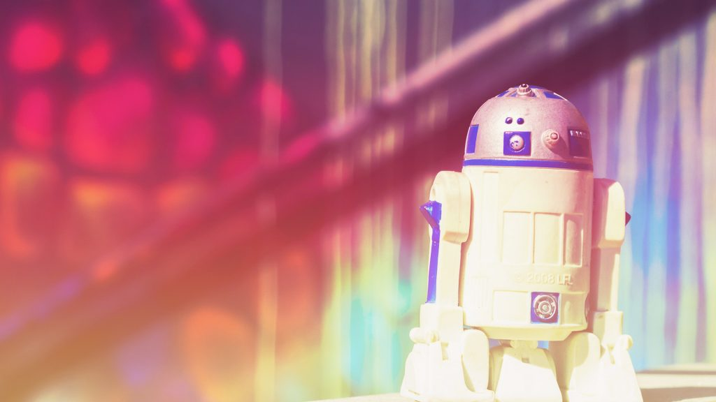R2-D2 is all about Star Wars Day!